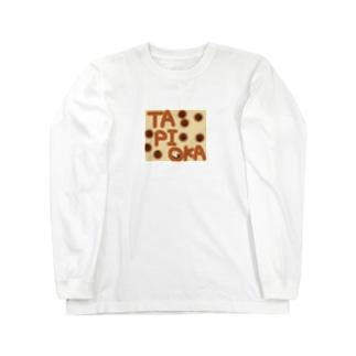 カラフルかわいいシリーズ TAPIOKA Long sleeve T-shirts