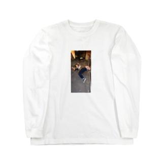SUSUKINOdown Long sleeve T-shirts