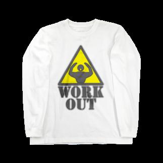 AURA_HYSTERICAのWorkout Long sleeve T-shirts