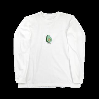 たくしーのあぼかどN.02 Long sleeve T-shirts