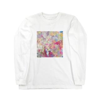 甘くて冷たい惑星 Long sleeve T-shirts