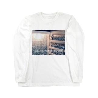 水が好き好き Long sleeve T-shirts