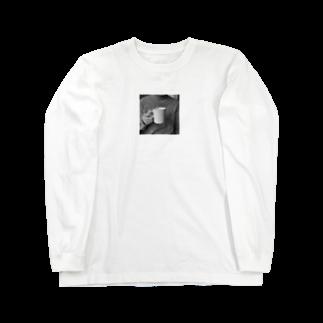 pnnnuのcoffee time Long sleeve T-shirts