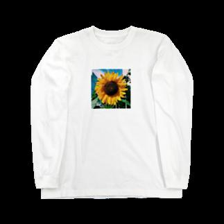 Shogo Hirokiのひまわり Long sleeve T-shirts
