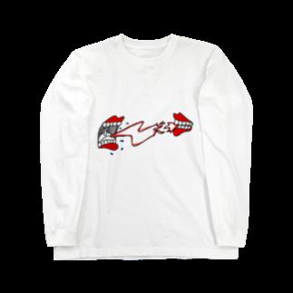 MOGU_RAの意思 Long sleeve T-shirts