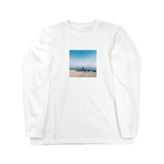 Shogo Hirokiの釣り人 Long sleeve T-shirts