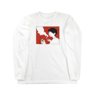 そんなことよりのヤニカスパイセン Long sleeve T-shirts