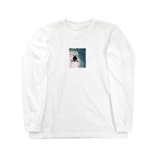 ウミガメ Long sleeve T-shirts