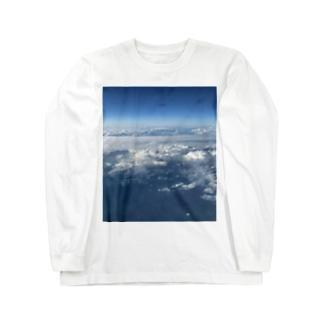 上の空 Long sleeve T-shirts