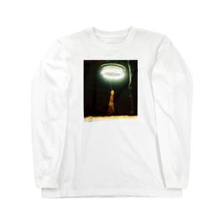 トリノサケビ Long sleeve T-shirts