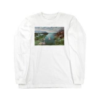 著作権フリー Long sleeve T-shirts
