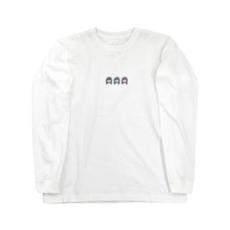 どんぐりの背比べ Long sleeve T-shirts