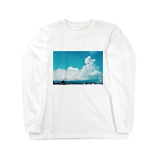夏休み初日 Long sleeve T-shirts