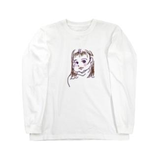 モモ Long sleeve T-shirts