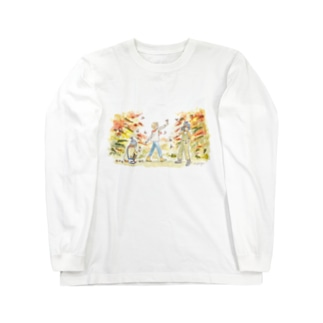 秋の気配 Long sleeve T-shirts