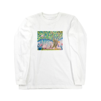 よるのもりで Long sleeve T-shirts