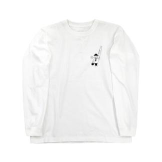 パンおじさん Long sleeve T-shirts