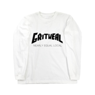 Thrash L/S Tシャツ ホワイト Long sleeve T-shirts