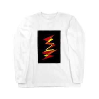 閃き Long sleeve T-shirts