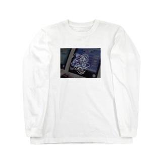 電脳少女ちゃん Long sleeve T-shirts