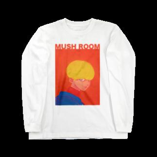 MUSH ROOMのLook This Way Long sleeve T-shirts