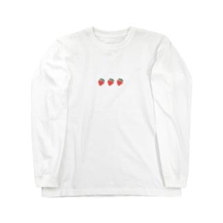 いちご Long sleeve T-shirts