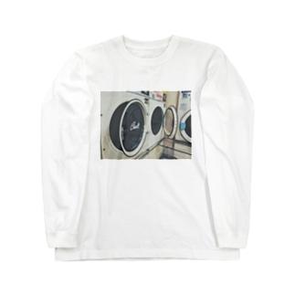 🦈のコインランドリー 02 Long sleeve T-shirts