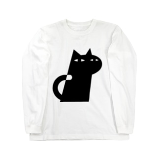 ANIMALシリーズ ねこ Long sleeve T-shirts