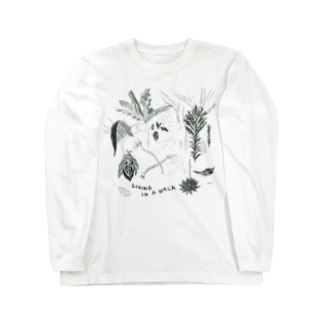 LIVING IN A WALK Long sleeve T-shirts
