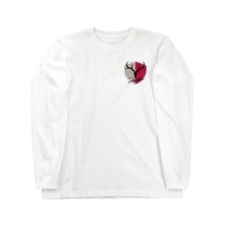 鹿島アントラーズのエンブレム Long sleeve T-shirts