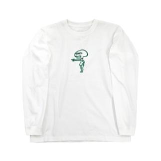 うつぅーじん Long sleeve T-shirts