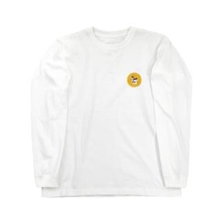 歌川国芳のお調子者犬 Long sleeve T-shirts