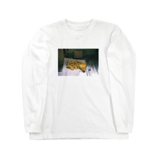 実家、かぼちゃ編 Long sleeve T-shirts