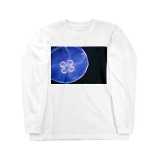 ラッキーなクラゲ Long sleeve T-shirts