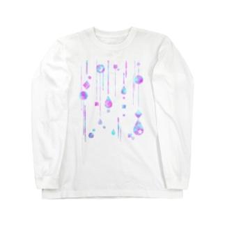 やなぎの気まぐれのゆめかわ雨粒 Long Sleeve T-Shirt