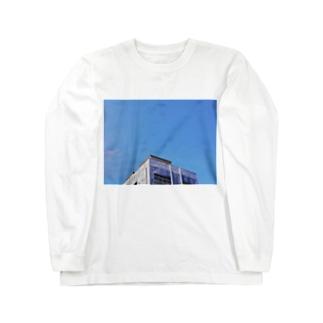 スカイブルー Long sleeve T-shirts