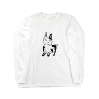 うさ子 Long sleeve T-shirts