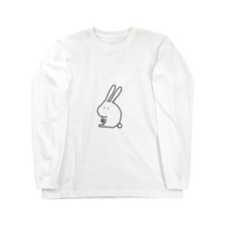 うさ Long sleeve T-shirts