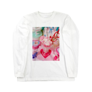 ファンシーいちごシェイクTシャツ Long sleeve T-shirts