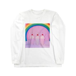 ファンシーシェイクTシャツ Long sleeve T-shirts