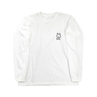 THCうさぎ ロンT Long sleeve T-shirts