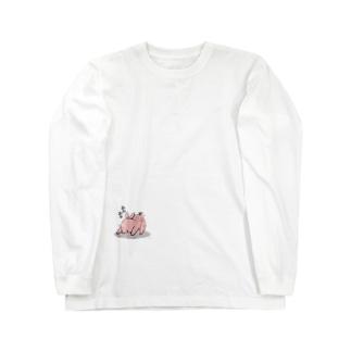 トリュフちゃん。 Long sleeve T-shirts