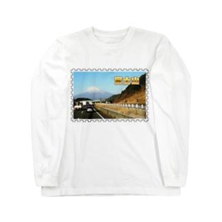 日本の山:富士山★白地の製品だけご利用ください!! Japanese mountain: Mt. Fuji★Recommend for white base products only !! Long sleeve T-shirts