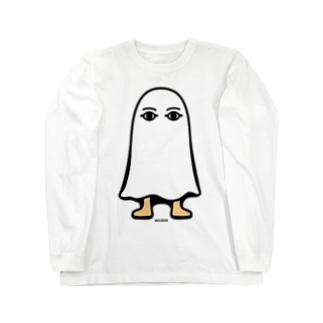 エジプトの神様★メジェドさま★仁王立ち Long sleeve T-shirts