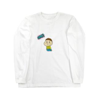 ぽぽ Long sleeve T-shirts