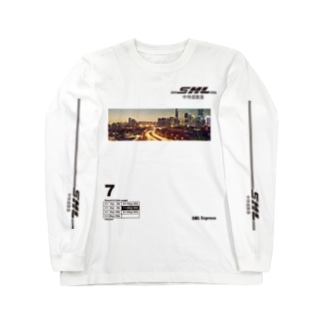 SML Express中侍道敦豪 Long sleeve T-shirts
