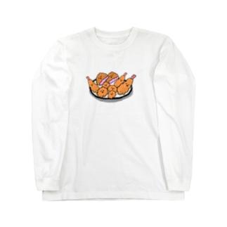 あげものさんズ Long sleeve T-shirts