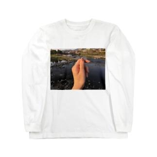 鴨川 Long sleeve T-shirts