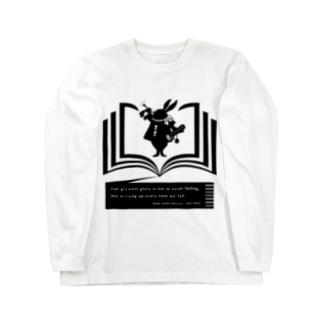 アリス×エマーソン(黒) Long sleeve T-shirts