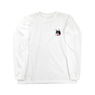 hungryブル Long sleeve T-shirts